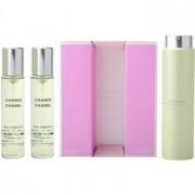Chanel Chance Eau Fraîche eau de toilette para mujer 3x20 ml (1x recargable + 2x recarga)