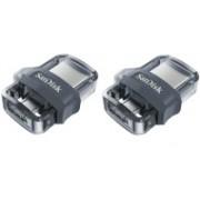 SanDisk Ultra Dual M 3.0 32 GB OTG USB External Data Storage Pen Drive 2P 32 GB OTG Drive(Black, Type A to Micro USB)