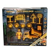 Construct A Truck-City Builder Set-Dump.Create a city construction site