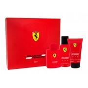 Ferrari Scuderia Ferrari Red EDT dárková sada pro muže - EDT 125 ml + sprchový gel 150 ml + deodorant 150 ml