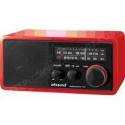ARTSOUND R11R RADIO RÉTRO - ROUGE - AM & FM ANALOGIQUE
