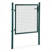 Duraporta 1510 porta de jardim 1.5m aço com fechadura verde