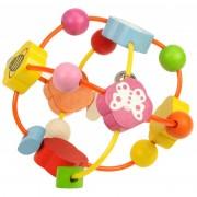 Mingiuta de activitati pentru bebelusi BigJigs, culori vesele, 13 cm