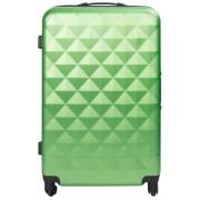 Borg Design Stor resväskor - grön - Hård abs/polycarbonat