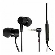 JAPANG MH 750 Stereo Earphone Handsfree WIth Mic 3.5mm Jack Black Color For Xperia SL S V Universal