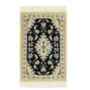 Nain Trading Alfombra Hecha A Mano Nain 9La 63x42 Alfombras Gris Oscuro/Beige (Lana, Persia/Irán)