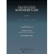 Three Pieces from Schindler's List Violin and Piano, Paperback