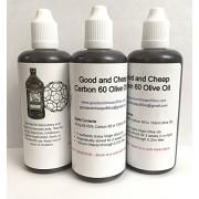 Carbon 60 Olive Oil 67mg / 100ml 99.95% C60oo Lipofullerene - By GoodAndCheapC60oo.com