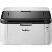 Лазерен принтер Brother HL-1210WE, монохромен, 2400x600dpi, 20стр/мин, WiFi, USB, A4, 2+1 г.