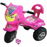 Oh Baby Baby Angry Bird Mask Pink Musical Tricycle For Your Kids SE-TC-06