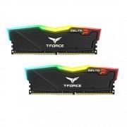 DDR4, KIT 32GB, 2x16GB, 3000MHz, Team Group Elite T-Force Delta RGB Black, 1.35V, CL16 (TF3D432G3000HC16CDC01)