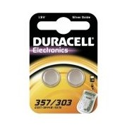 Duracell 357/303 1,5V in 2er Blister