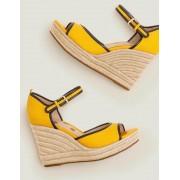 Boden Sonnengelb/Navy Philippa Espadrille mit Keilabsatz Damen Boden, 36, Yellow