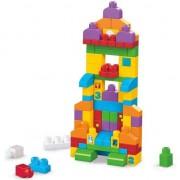 Set constructie Mega Bloks Sa invatam sa construim 150 piese