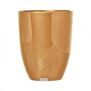 Cachepot de Cerâmica 25cm Dourado Mazzotti