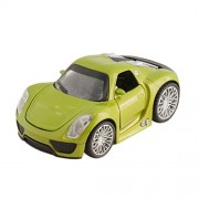 Tootpado Audi R8 1:32 Scale Diecast Toy Car - Green (1TNG14) - Pull Back Action