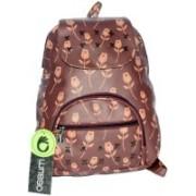 Ossum Casual Attractive Stylish College Backpacks/Sling Bag/Side Bag 8 L Backpack(Brown)