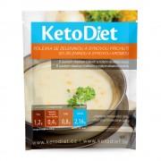 KETODIET Proteinová polévka Sýrová se zeleninou 7 porcí