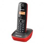 Teléfono Inalámbrico Panasonic KX-TG 1611 SPR Negro Rojo