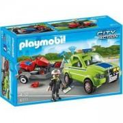 Комплект Плеймобил 6111 - Градинар с кола и градинарски принадлежности - Playmobil, 291258