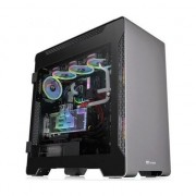 Carcasa Thermaltake A700 Tempered Glass, Full Tower, fara sursa, ATX, argintiu