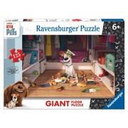Puzzle Pets - Singuri Acasa, 125 Piese Ravensburger