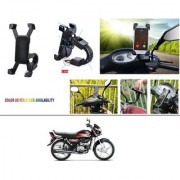 AutoStark Motorcycle Mount Cell Phone Holder/Installed to Motorcycle Rearview mirror Phone Mount For Hero HF Deluxe