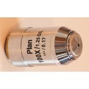 Obiectiv plan 100x pentru microscoape Lacerta seria Infinity