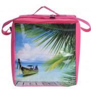Chladící taška 16L růžová