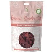 Organic Dried Strawberries 125g