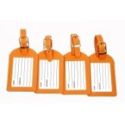 Sukeshcraft World Currency Luggage Tag(Orange)