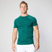 ICANIWILL Seamless Vivid Green T-shirt Men L