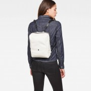G-Star RAW Dames Mozoe Leather Backpack Wit - one size