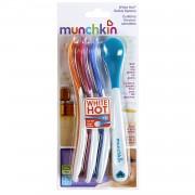 Cubiertos para Bebés Munchkin 4 cucharas con sensor de calor