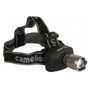 Camelion Kopflampe 3 Watt LED mit Zoomfunktion - inkl. Batterien
