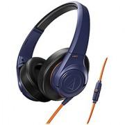 AudioTechnica ATH-AX3IS SonicFuel Over-Ear Headphones (Navy)