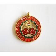 Insigna militara comemorativa 25 ani