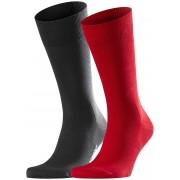 Falke Sokken Cool 24/7 2-Pack Scarlet / male