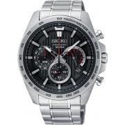 Seiko SSB299P1 horloge heren - zilver - edelstaal