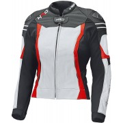 Held Street 3.0 Women's Motorcycle Leather Jacket White Red 38