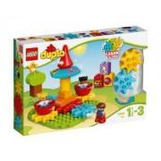 Конструктор ЛЕГО ДУПЛО - Моята първа въртележка - LEGO DUPLO, 10845