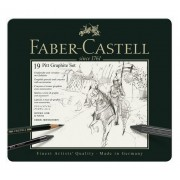 Set Pitt Monochrome Grafit 19 Buc. Faber-Castell