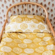 Witlof for kids Tuck-Inn dekbedovertrek (140x200cm) Sparkle sweet honey 1-persoons