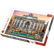 Puzzle clasic - Fontana di Trevi Roma 500 piese