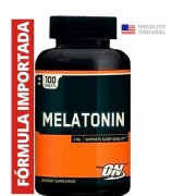 Melatonina 3mg Optimum Nutrition Importada 100tabs
