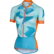 Castelli Women's Climber's Jersey - Sky Blue/Orange - L - Sky Blue/Orange