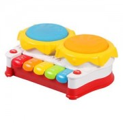 ELECTROPRIME Educational Toy Musical Hand Beat Drum Instrument Story Electronic Organ Toy