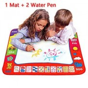 SLB Works Brand New Children Aqua Doodle Learning Drawing Toys 1 Painting Mat + 2 Water Drawing Pen