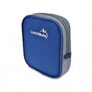 LunchBots Classic Sleeve - Blue - Carrying Case for LunchBots Uno