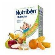 Multifrutas papa para bebé sem açúcar 300g - Nutriben